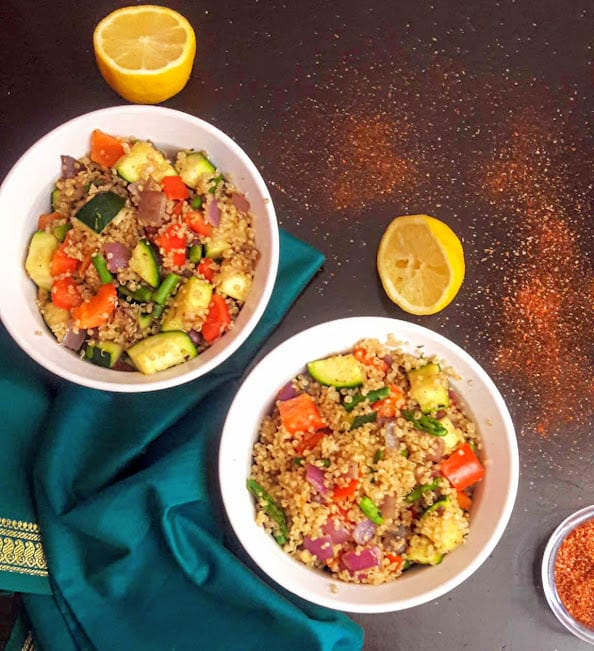 Superfood Curried Quinoa Pilaf