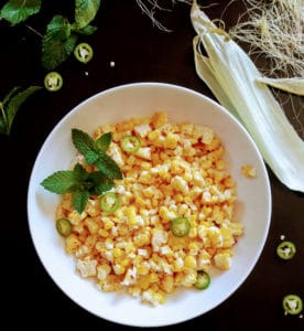 Mexican Style Spicy Street Corn Salad-Elote-InstantPot