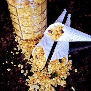 Chivda - Rice Krispies Savory Trail Mix