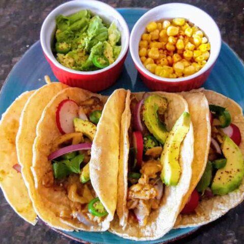 Vegan Green Jackfruit Tacos