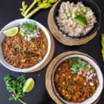 Vegan Lentil Chili-InstantPot Recipe- ProfusionCurry