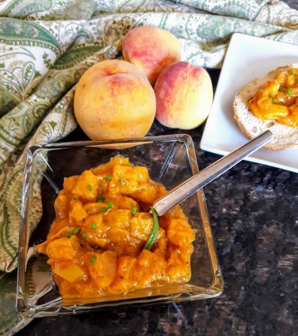 Peach Chutney InstantPot