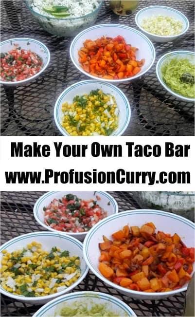 DIY Taco BAR -ProfusionCurry