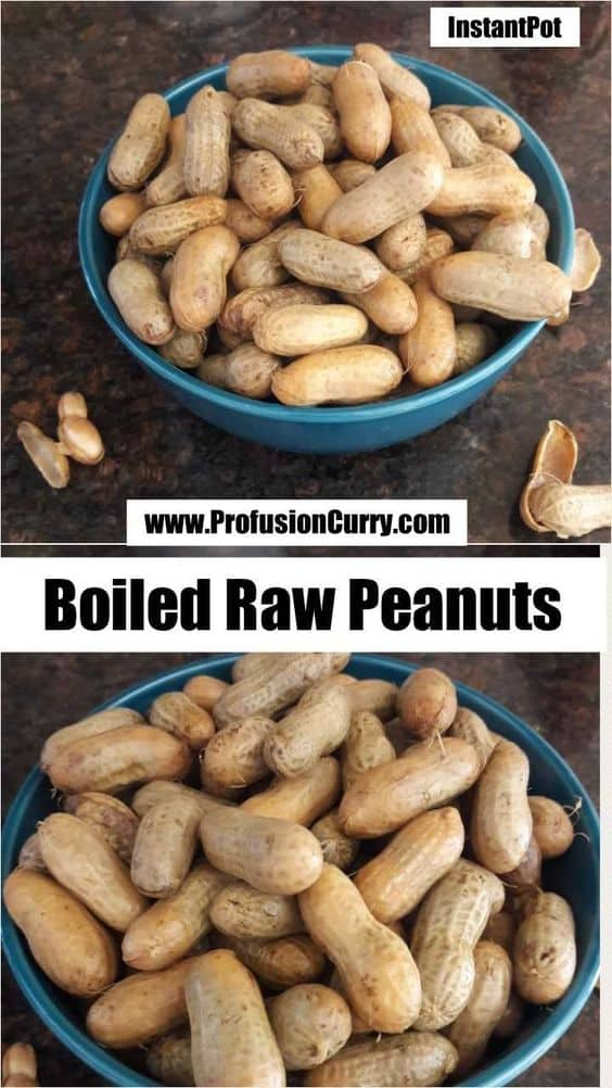 Boiled Peanuts in InstantPot-ProfusionCurry