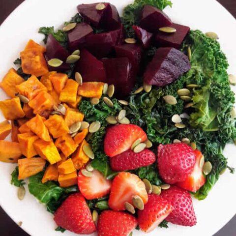 Harvest Kale Salad Recipe