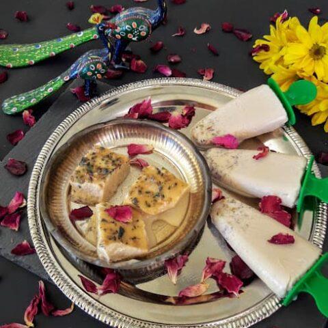 Instant Mukhwas Kulfi Recipe