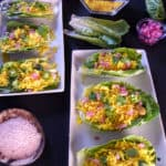 Lettuce Wraps with Turmeric Lemon Rice Recipe