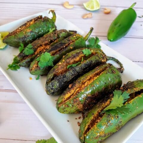 Recipe: Indian Stuffed Jalapeño Peppers-ProfusionCurry