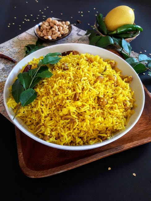 Turmeric Lemon Rice Recipe InstantPot