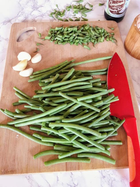 Spicy Green Beans ingredients