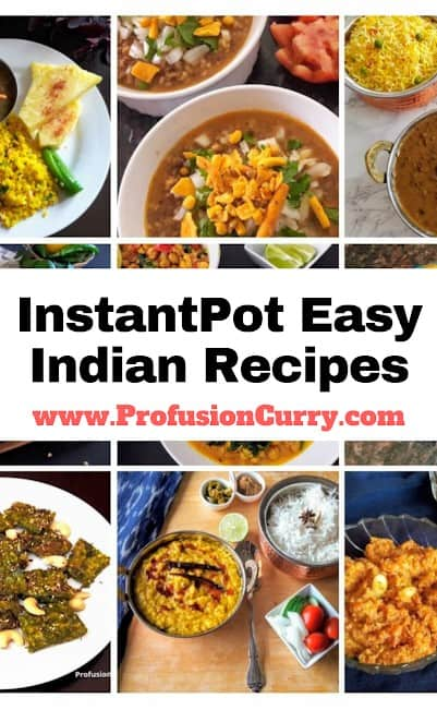 Instantpot Easy Indian Recipe Collection-ProfusionCurry