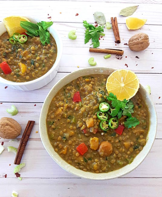 Morrocan Lentil Stew ProfusionCurry