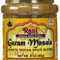 Rani Garam Masala Indian 11 Spice Blend 3oz (85g) All Natural | Vegan | Gluten Free Ingredients | Salt Free | NON-GMO