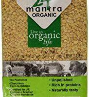 24 mantra Organic Split Pigeon Pea (Toor Dal) 2 lbs
