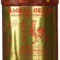 Huey Fong Sambal Oelek Chili Paste 8 Oz