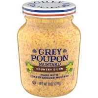Grey Poupon Country Dijon Mustard (8oz Jar)