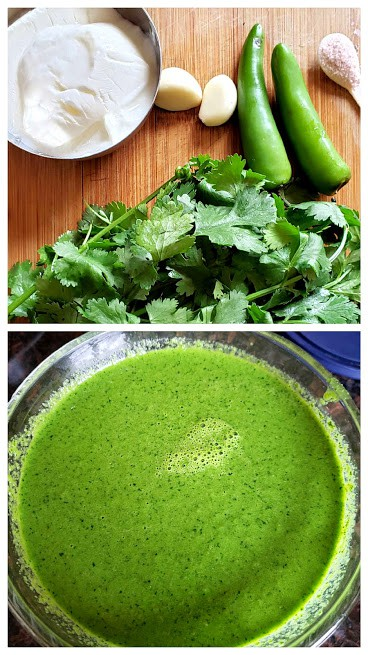 Green Sauce to drizzle on top of tacos.