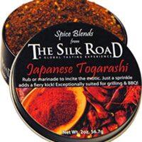Japanese Togarashi Spice Blend from The Silk Road Restaurant & Market (2oz), No Salt | All Natural Seasoning | Vegan | Gluten Free Ingredients | NON-GMO | No Preservatives