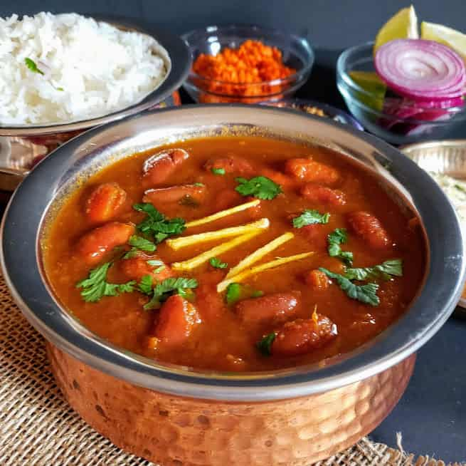 Rajma Masala - Kidney Beans Curry Recipe