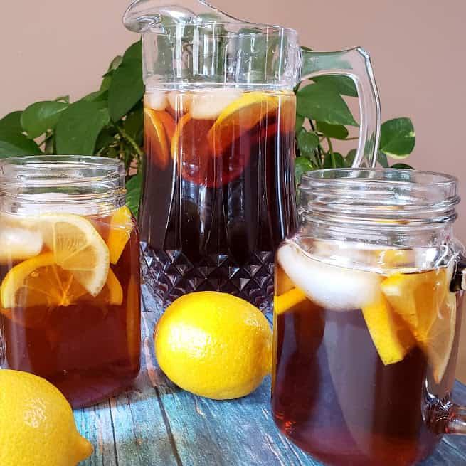 Classic Sweet Iced Tea Recipe