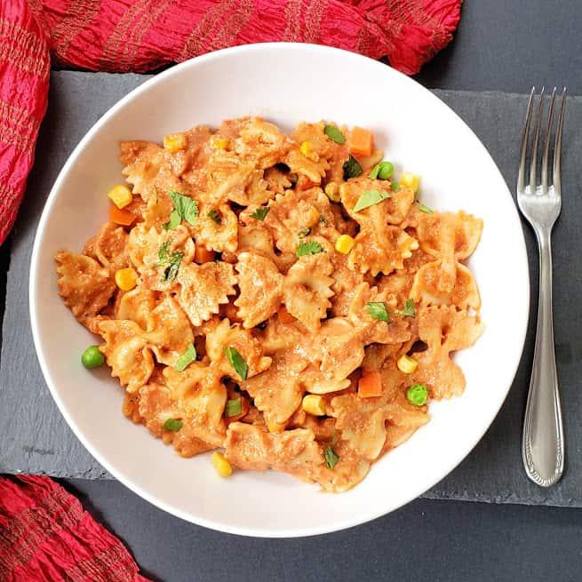 Makhani Masala Pasta Recipe