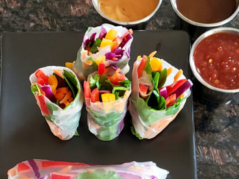 Easy Vietnamese Spring Rolls Profusion Curry