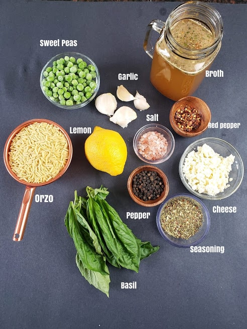 Ingredients used in making this recipe.