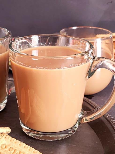 A cup of warm tea.