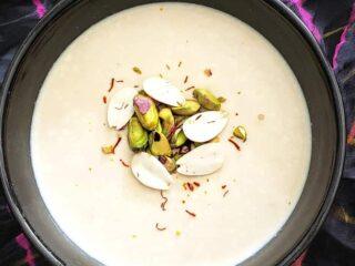 Rich and creamy Mishti Doi dessert which is popular Indian Bengali dessert of Caramelized Milk Yogurt.